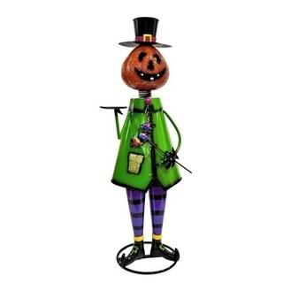 "Iron Halloween Figurine ""Pumpkin Man"""