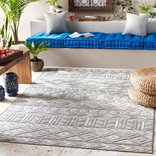Tescott Bohemian indoor/ Outdoor Area Rug