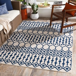 Rozelle Moroccan Indoor/ Outdoor Area Rug