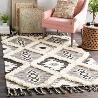 Topanga Handmade Wool Scandinavian Tassel Area Rug