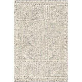 Zakaria Handmade Wool Moroccan Medallion Area Rug