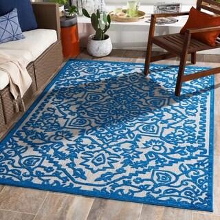 Mahir Updated Traditional Indoor/ Outdoor Area Rug