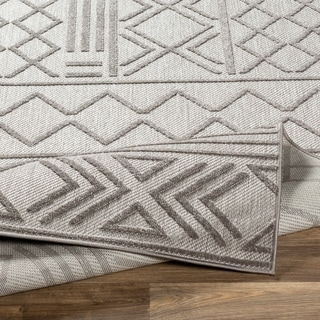 Cassian Bohemian Indoor/ Outdoor Area Rug