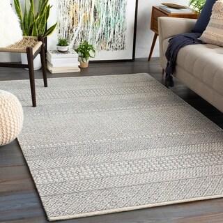 Amina Handmade Wool Moroccan Area Rug