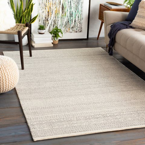 Aleah Handmade Wool Moroccan Area Rug