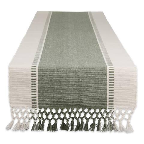 Porch & Den Cree Dobby Stripe Table Runner