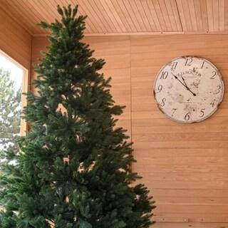 ALEKO Ultra Lush Traditional Lifelike Artificial Indoor Christmas Holiday Tree - 8 Foot