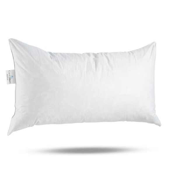 ComfyDown 95% Feather 5% Down, Rectangle Decorative Pillow Insert, Sham Stuffer.. Opens flyout.