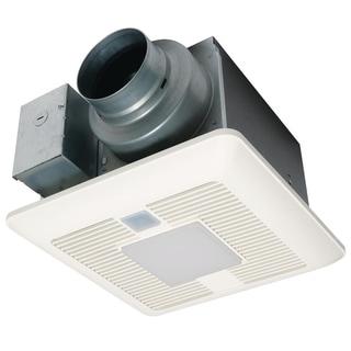 Panasonic WhisperFit EZ Dual Speed Ventilation Fan w/ Light, 80 or 110 CFM - White - N/A