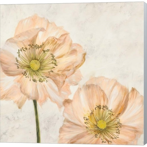 Luca Villa Poppies In Pink I Canvas Art Overstock 29228062
