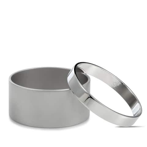 Calvin Klein Satisfaction Stainless Steel Bangle Bracelet Set