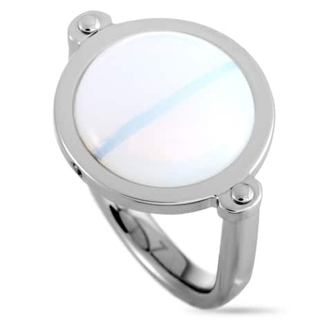 Swatch Glance on the Moon Stainless Steel Ring Size 6