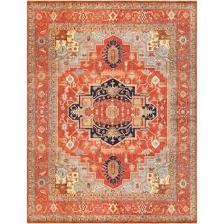 "Pasargad Home Serapi Collection Wool Area Rug - 9' 7"" X 14' 6"""