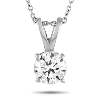Roberto Coin White Gold Diamond Pendant Necklace