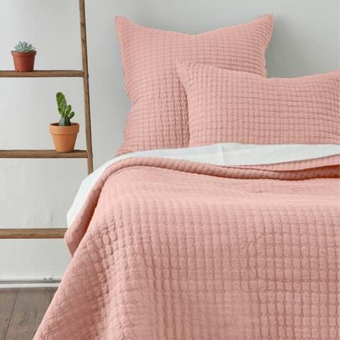Cottage Home Katalina Linen Quilt Twin Set