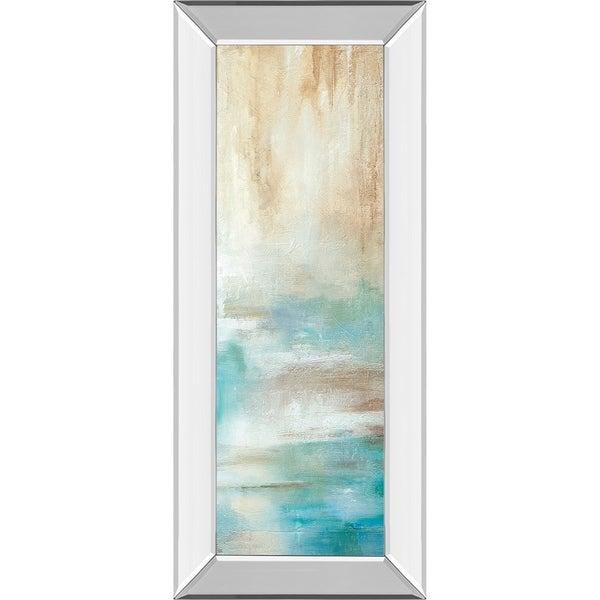 "18 in. x 42 in. ""Misty View Il"" By Carol Robinson Mirror Framed Print Wall Art"