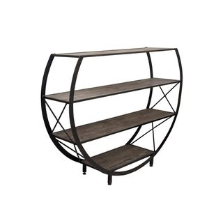 Link to StyleCraft Bryan Keith Santa Monica Circle Bookcase Similar Items in Living Room Furniture