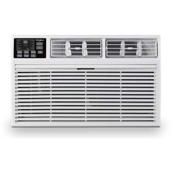 Whirlpool 10,000 BTU 230V Through-the-Wall Air Conditioner with 10,600 BTU Supplemental Heating