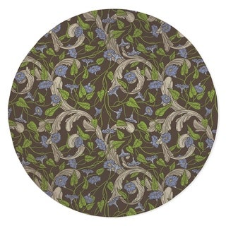 FLORA IVORY Area Rug By Kavka Designs