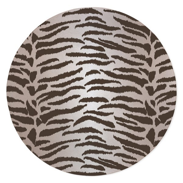 TIGER BROWN Area Rug By Kavka Designs