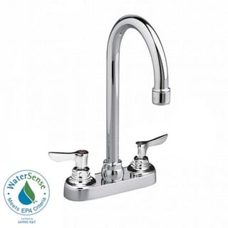 American Standard Monterrey Centerset Lavatory 1.5 GPM Faucet with Lever Handles in Chrome