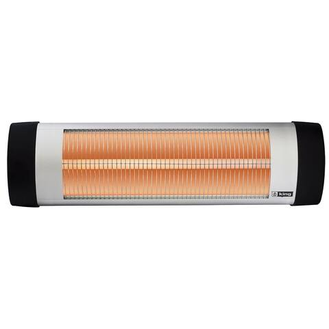 King Electric RSH1215 Radiant Shop/Patio Heater, 1500W, 120V
