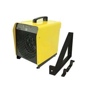 King Electric PSH2440TB Portable Garage Heater w/ Thermostat and Mounting Bracket, 4000W, 240V