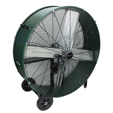King Electric DFC-36B High Velocity Belt Drive Drum Fan For Industrial, Commercial Use, 11630 CFM, 36""