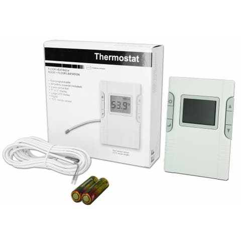 King Electric EF Floor Heating Thermostat (Non Programable)
