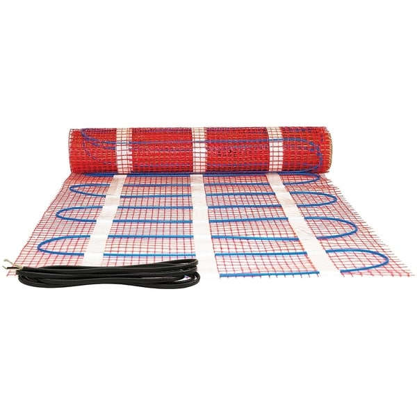 King Electric FCM1-100 In-Floor Heating Mat, 120V, 1200W, 100 Sq. Ft