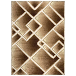 Bella Collection Modern Geometric Abstract Area Rug