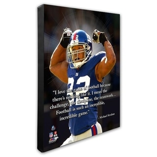 New York Giants 16x20 Stretched Canvas