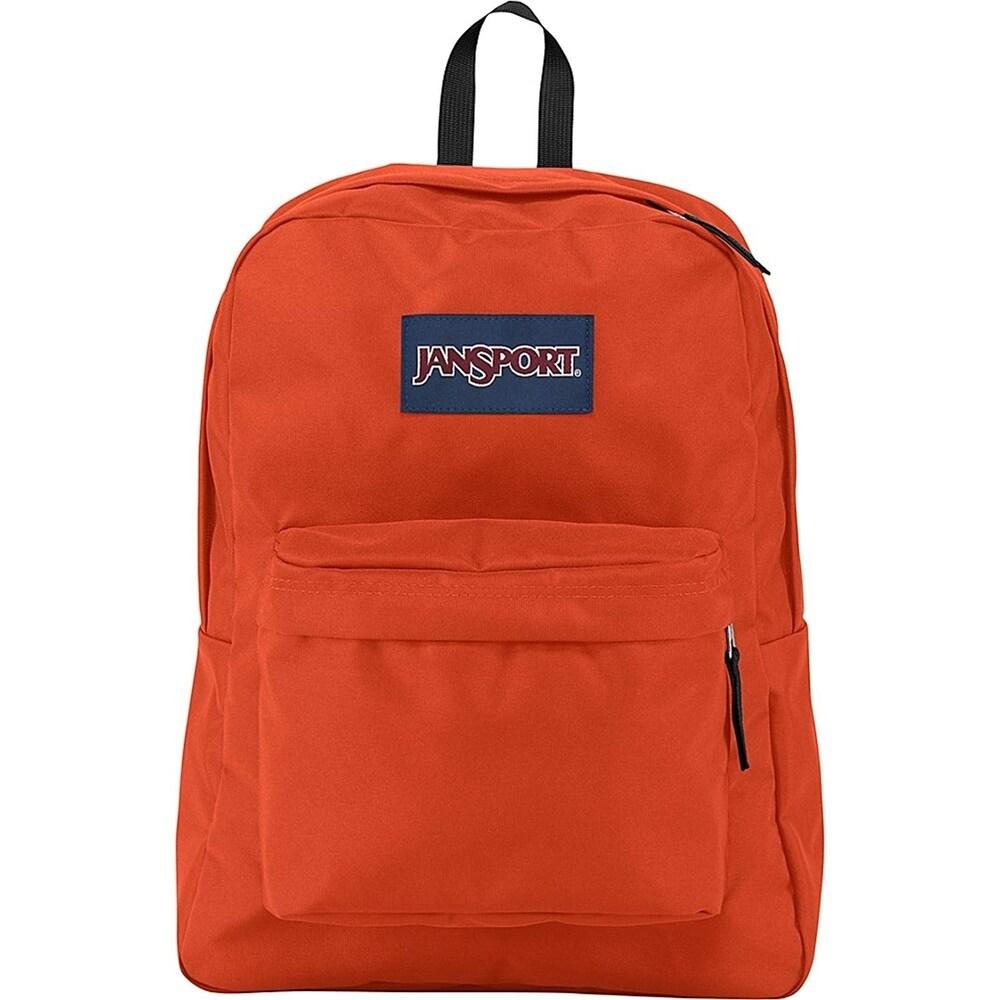 Jansport Superbreak Backpack - Cherry Tomato - JS00T50147A