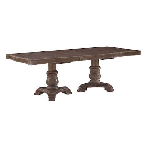 "Charmond Dining Room Table Kit - Brown - 46"" x 103.25"" x 25.63 - 46"" x 103.25"" x 25.63"