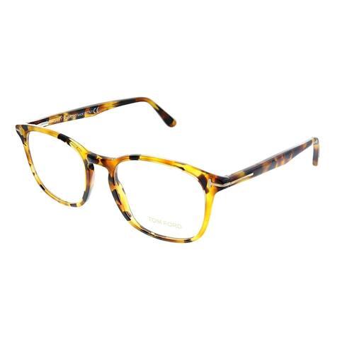 Tom Ford FT 5505 055 52mm Unisex Havana Frame Eyeglasses 52mm