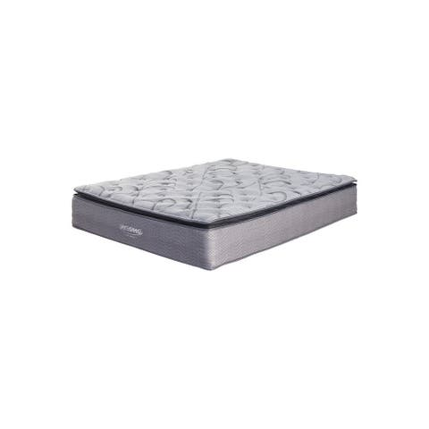 Signature Design by Ashley Curacao 13 Inch Plush Pillowtop Mattress with Head-Foot Model-Better Adjustable Bed Frame