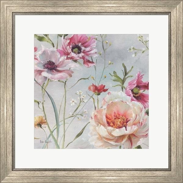 Lisa Audit 'Antique Garden III' Framed Art