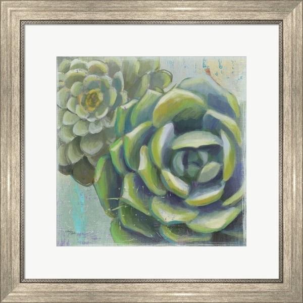 Wellington Studio 'Succulents II Crop' Framed Art