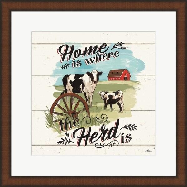Janelle Penner 'Farm Life II' Framed Art