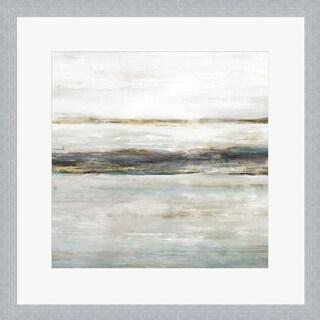 Isabelle Z 'Water's Edge I' Framed Art