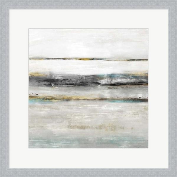 Isabelle Z 'Water's Edge II' Framed Art