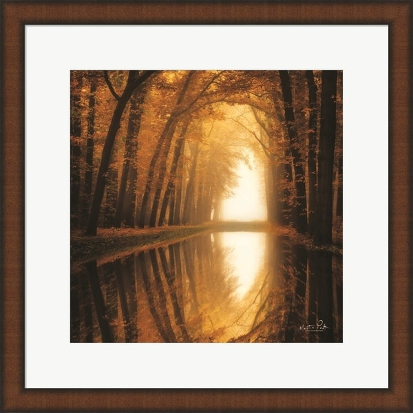 Martin Podt 'Lochem Reflections' Framed Art