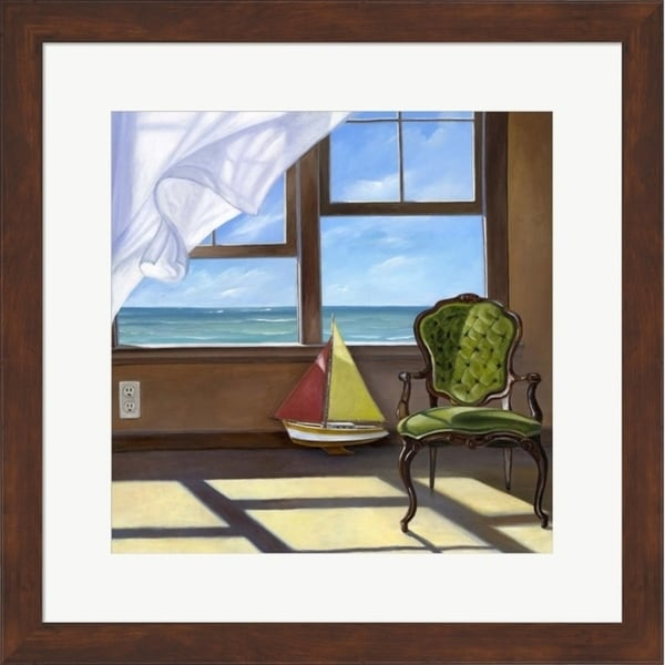 Bonnec Brothers 'The Sea Breeze' Framed Art