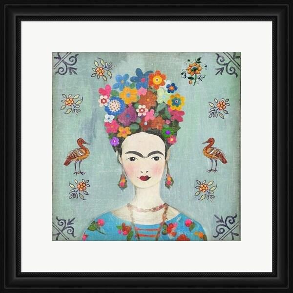 Aimee Wilson 'Farida' Framed Art