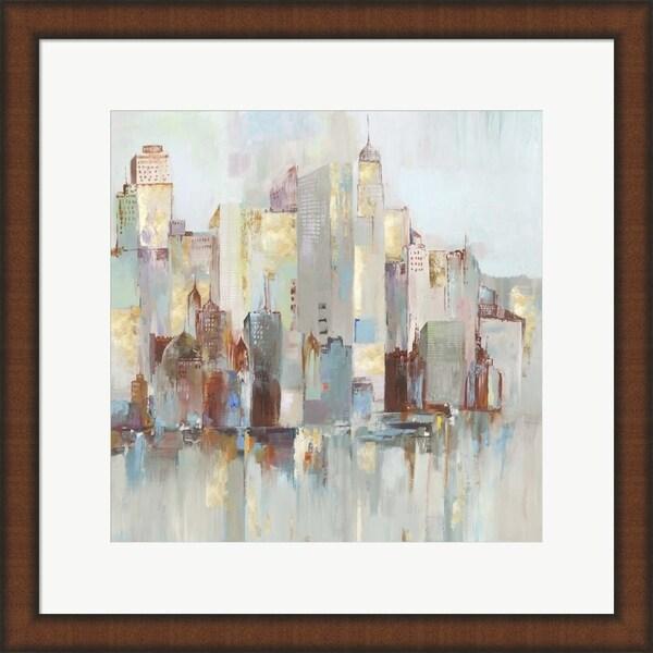 Allison Pearce 'City Escape I' Framed Art