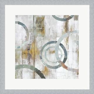 Isabelle Z 'Swirls II' Framed Art