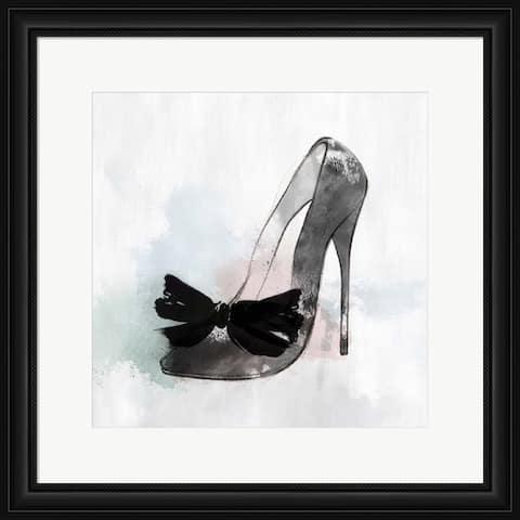 Isabelle Z 'Black Heel I' Framed Art