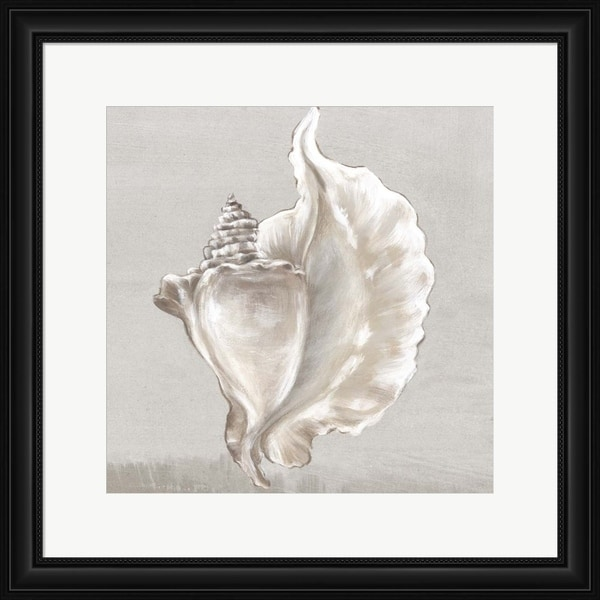 Eva Watts 'Neutral Shells III' Framed Art