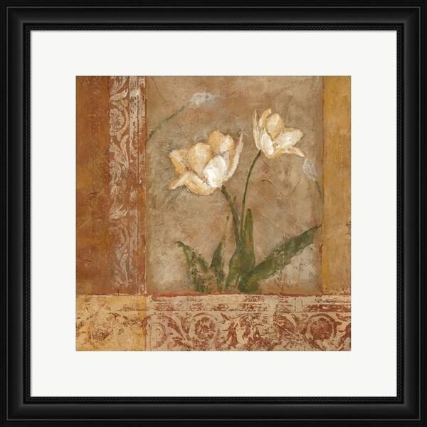 Judi Bagnato 'Morning Floral II' Framed Art