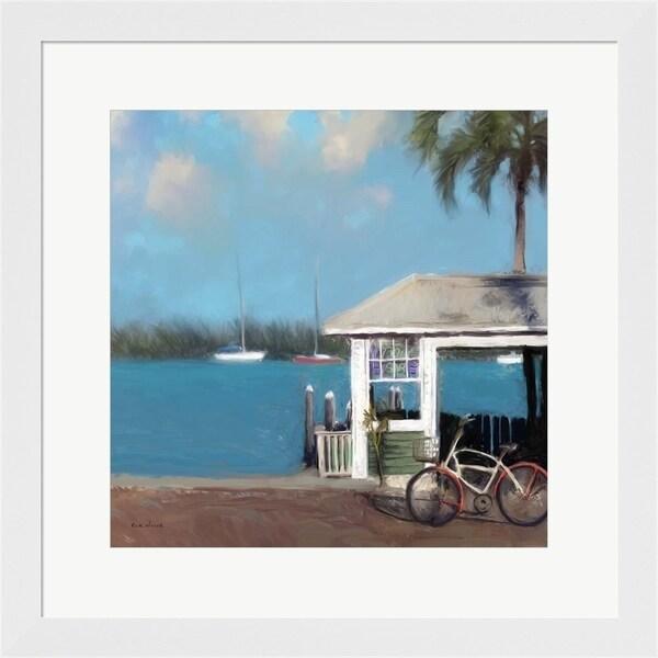 Rick Novak 'Pier One' Framed Art